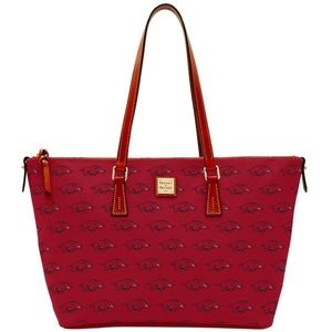 Arkansas Razorbacks Dooney & Bourke Tote Purse